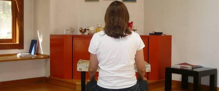 Cabin Retreat Meditator