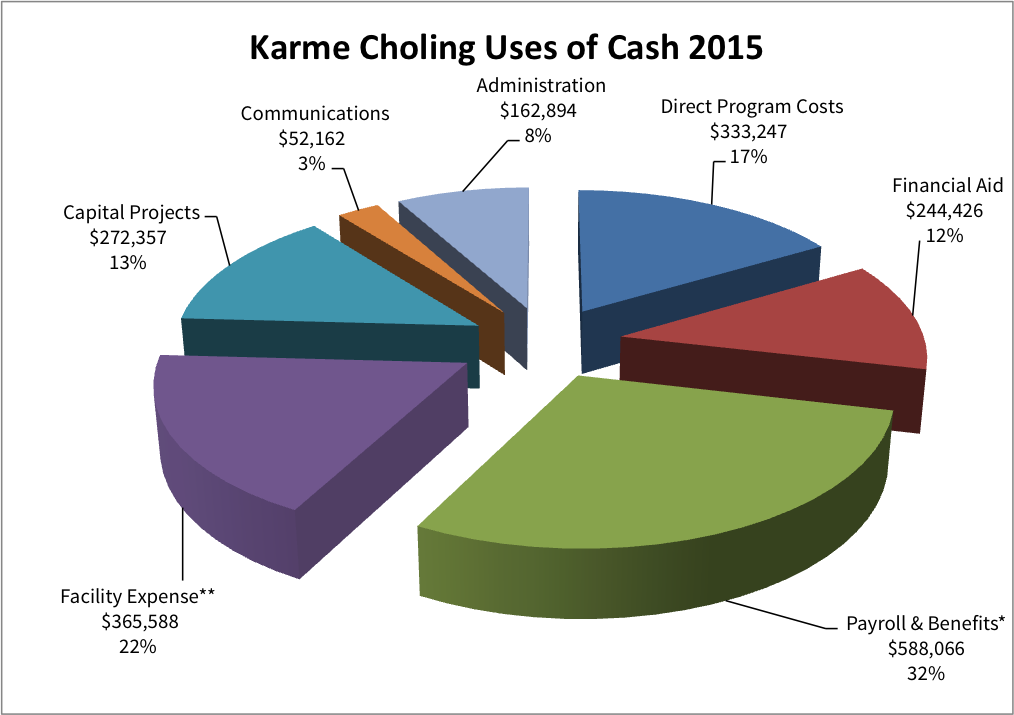 2015 Uses of Cash