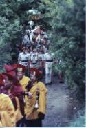 Trungpa Rinpoche cremation