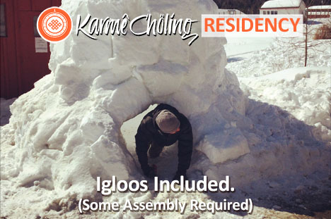 Igloos included